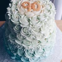 Sky Rose Cake